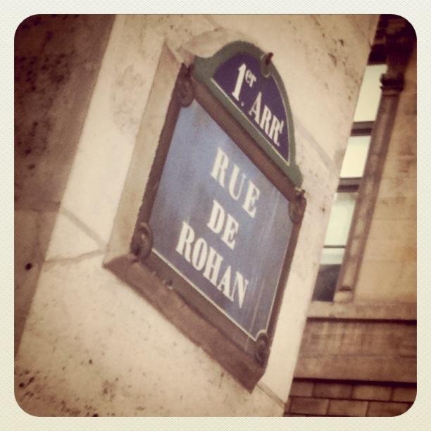 Rue de Rohan
